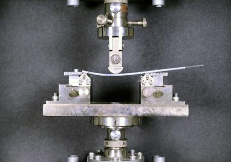 Destructive testing of composite materials